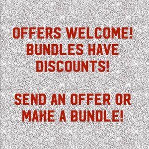 Make an offer or Bundle & Save!